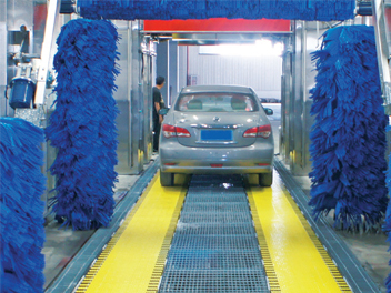 park car wash belt conveyor