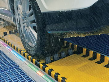 retrofit car wash belt conveyor