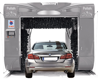 Touchbrite In Bay Automatic Car Wash Equipment System